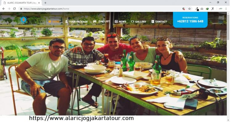 Tour and Travel Agent Yogyakarta : Alaric Jogjakarta Tour