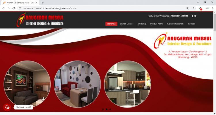 Penjualan Furniture dan Kithcen Set di Bandung : Anugerah Mebeul