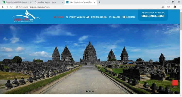 Website Jasa Asia Tour : Jogja Asia Tour