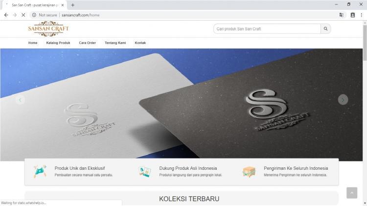 Toko Online Penjualan Kerajinan Perak Jogja : San San Craft
