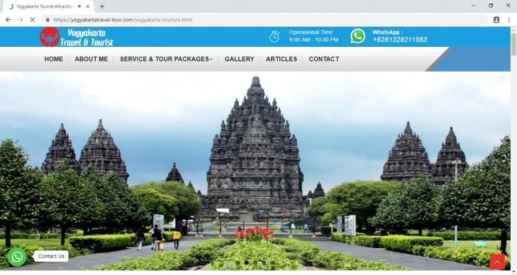 Travel Agent in Jogja  : Yogyakarta Travel Tourist : Yogyakarta Travel Tour